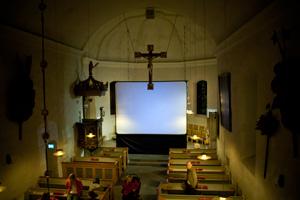 Film i Huddinge kyrka