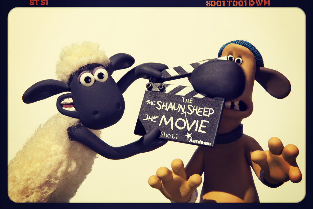 Reklambild för Shaun the Sheep