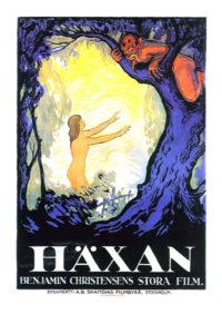 Filmaffisch för Häxan från 1922